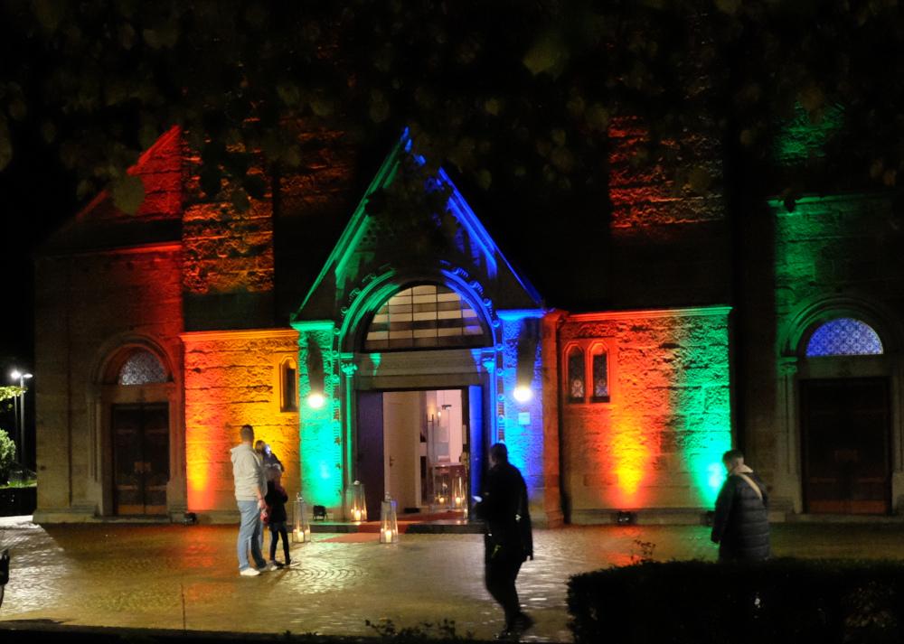 Magisches Portal: St. Clemens (1.10.2021; Foto: Henning Klare)