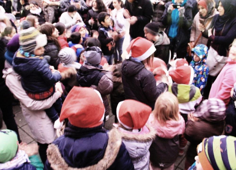 "Nikolausfeier am 6.12.2017 bei der ""Alten Post - Berg Fidel"""