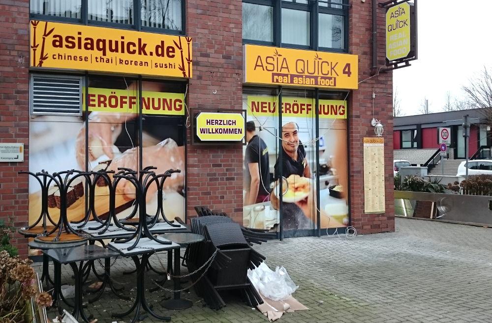 asiaquick - wer will hier essen gehen? (25.12.2017; Foto: Klare)