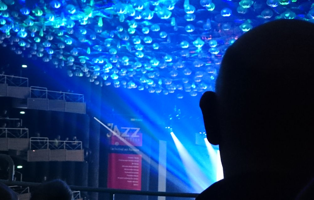 Münster ist ganz Ohr: Jazz Inbetween 2018 in Münsters Großem Haus (7.1.2018; Foto: Klare)