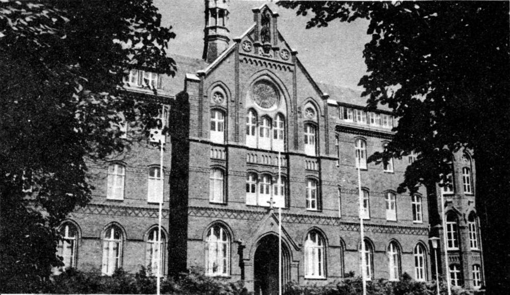 Das alte Paterkloster in Hiltrup (1983; Quelle: Hiltrup heute und morgen Nr. 30)
