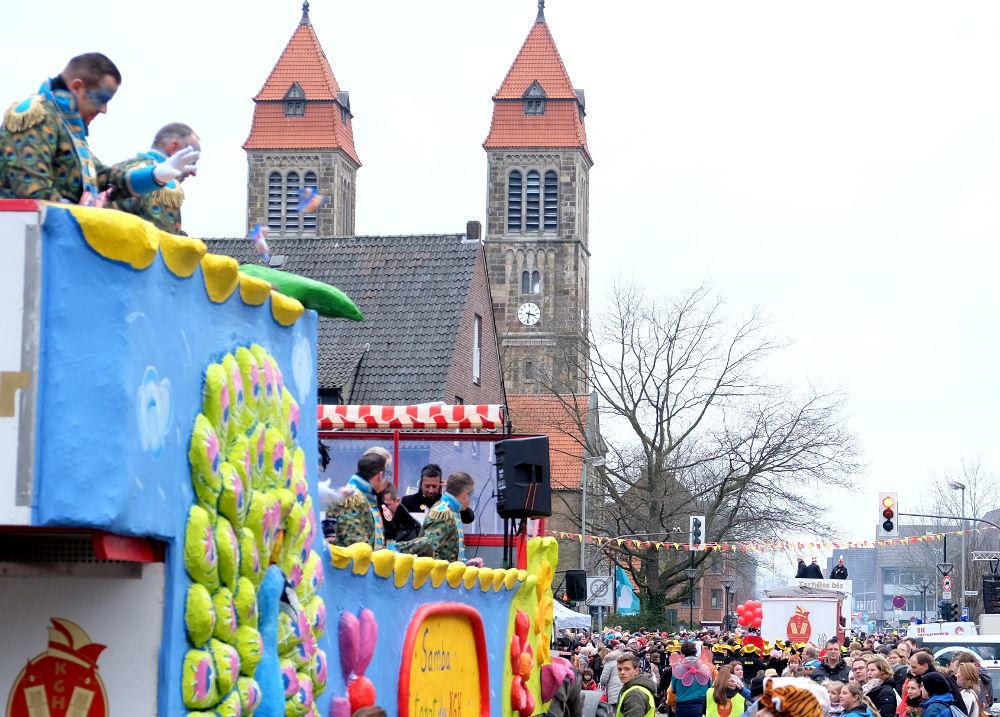 St. Clemens feiert Karneval (3.2.2018; Foto: Klare)