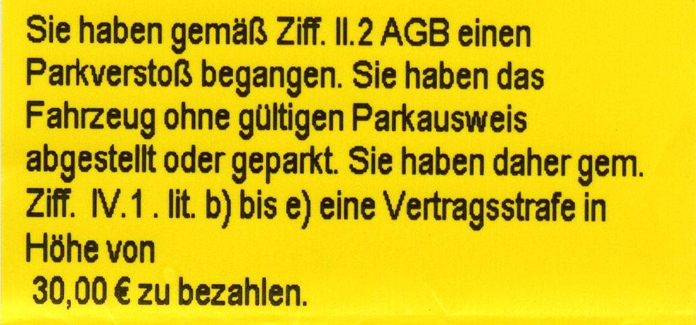 """Park & Control verteilt """"Knöllchen"""" auf den Parkplätzen der Supermärkte am Hiltruper Bahnhof."""