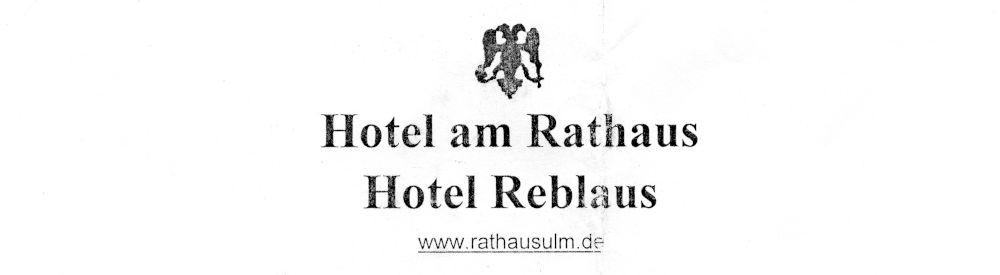 Hotel am Rathaus in Ulm
