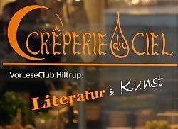 Literatur und Kunst trafen Crêpes (24.10.2018; Foto: Klare)