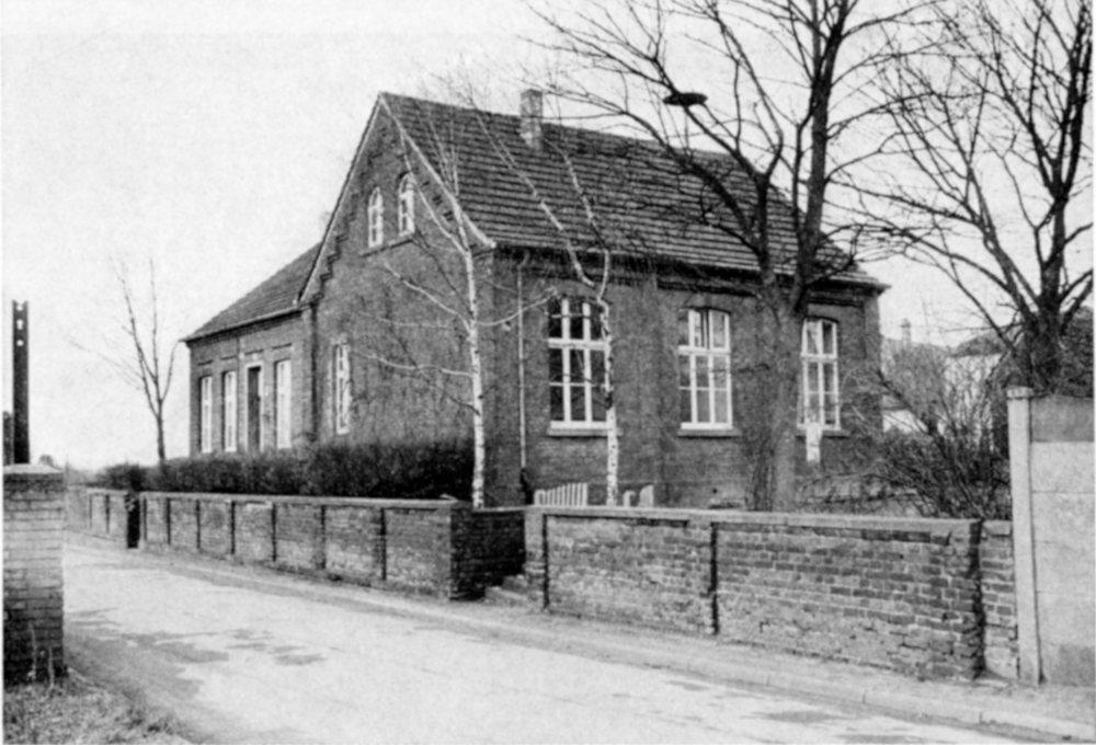 Mädchenschule von 1894 an der Burchardtstraße (heute: An der Alten Kirche)