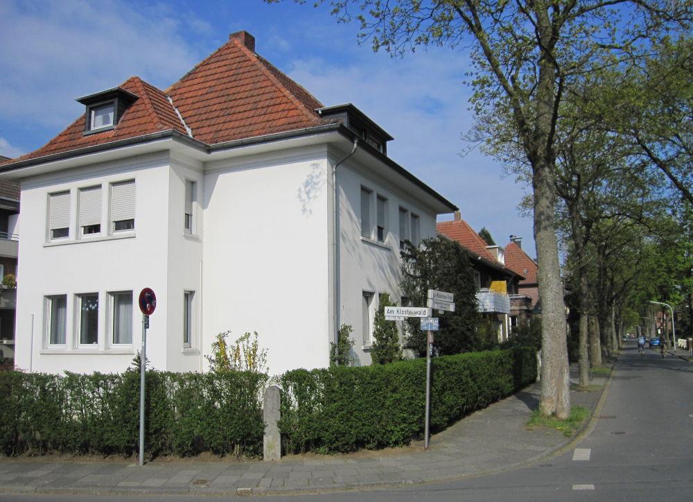 Max-Winkelmann-Str. 1 (17.4.2011; Foto: Klare)