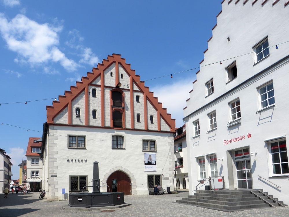 Bad Waldsee: ehemaliges Kornhaus, jetzt Museum (20.7.2018; Foto: Meyerbröker)