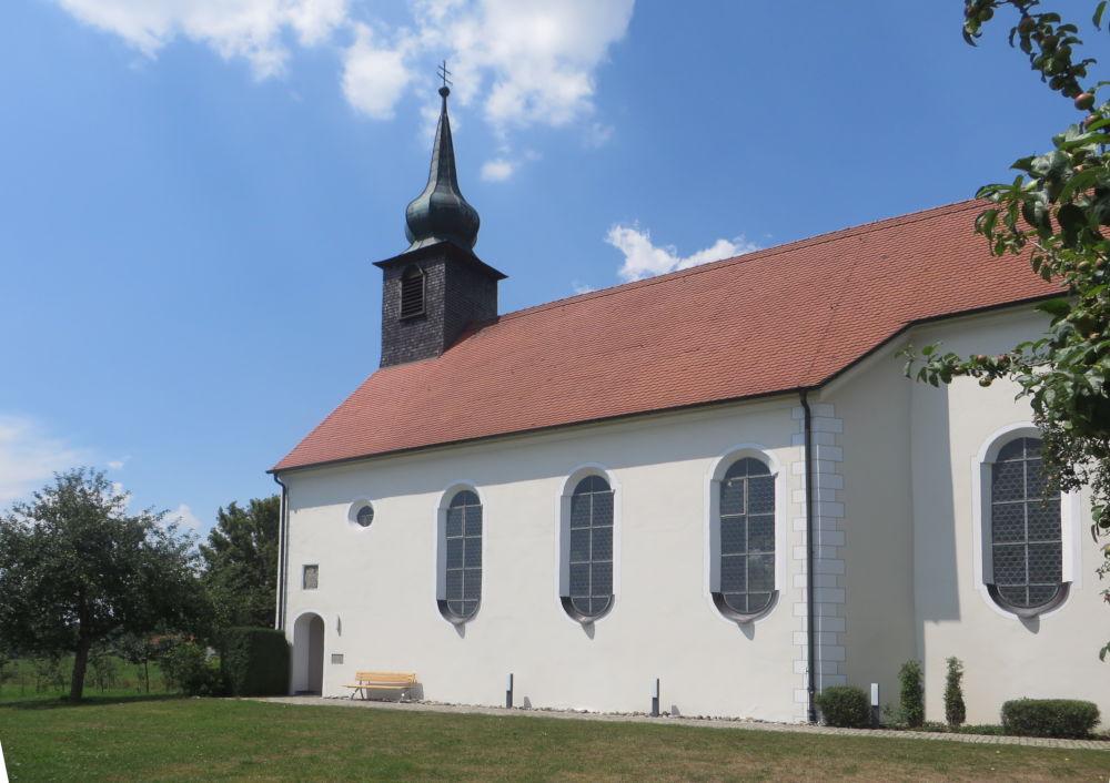 St. Georg-Kapelle in Gwigg (20.7.2018; Foto: Meyerbröker)