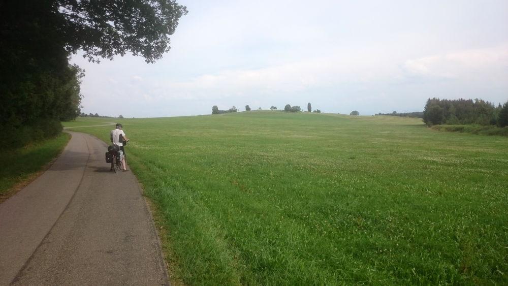 Unterwegs nach Kißlegg (20.7.2018; Foto: Klare)