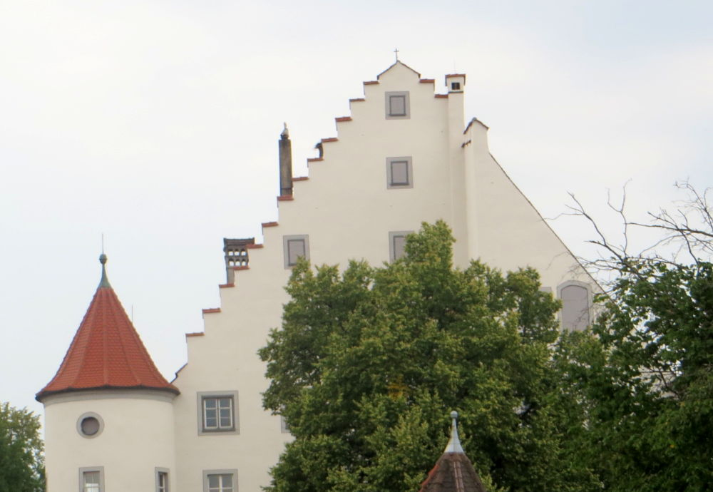 Kißlegg: Altes Schloss (20.7.2018; Foto: Meyerbröker)