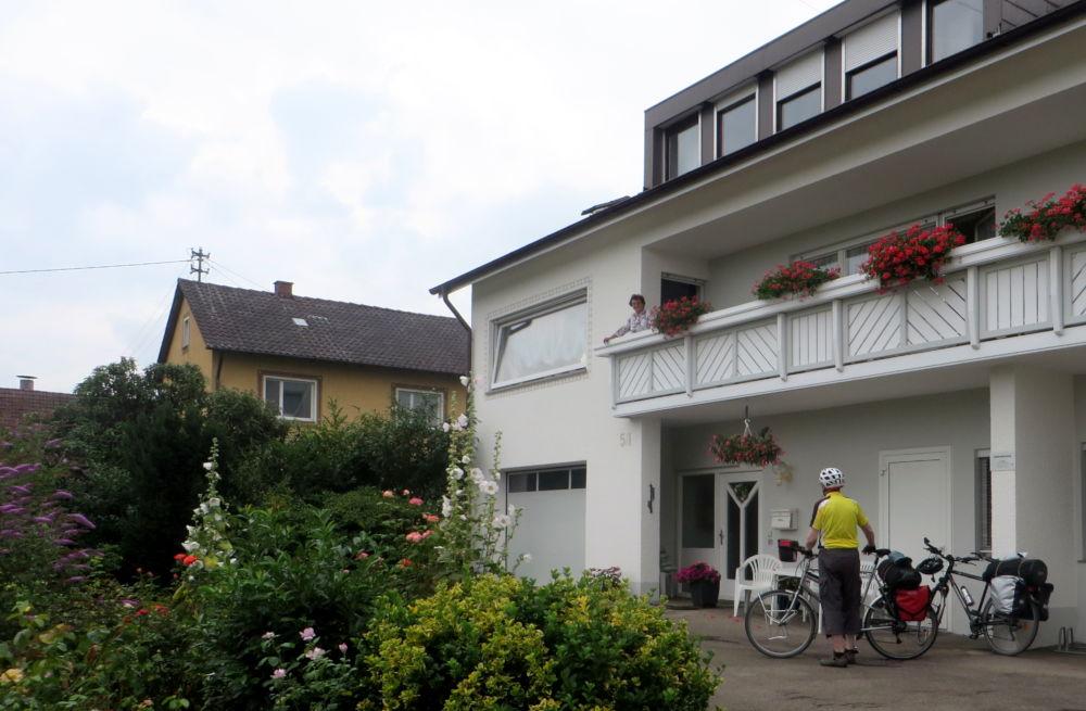 Aufbruch in Kressbronn-Hüttmannsberg am Morgen (22.7.2018; Foto: Meyerbröker)
