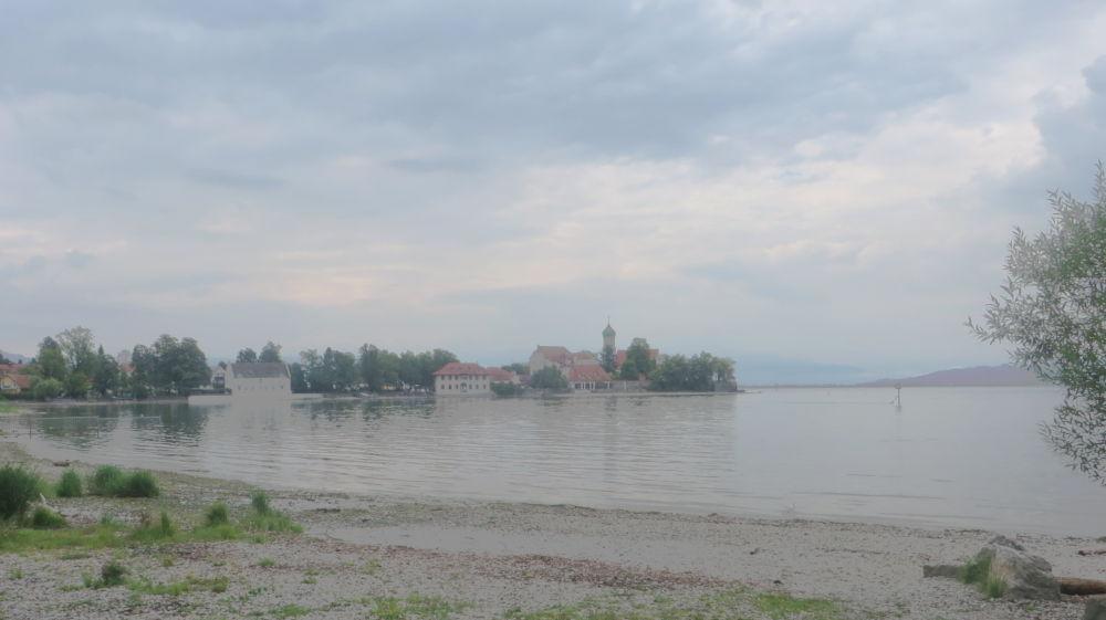 Blick auf Wasserburg (22.7.2018; Foto: Meyerbröker)