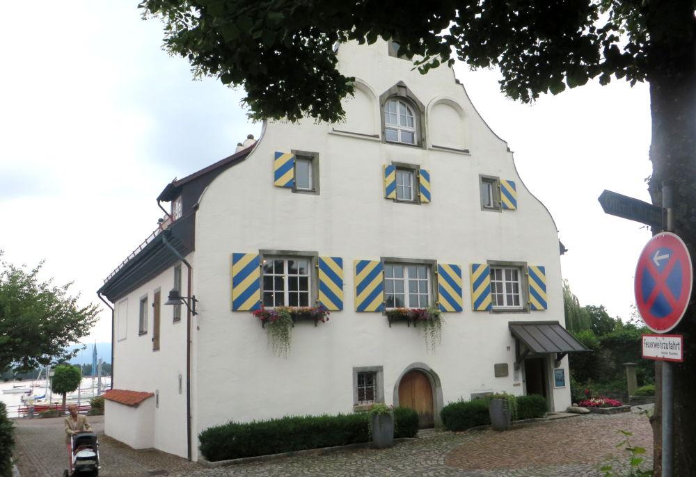Wasserburg: Das alte Gerichtsgebäude (22.7.2018; Foto: Meyerbröker)