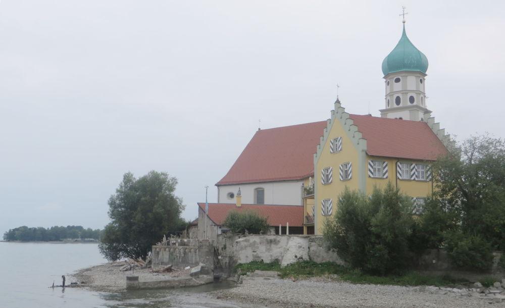 Wasserburg: Pfarrhaus St. Georg (22.7.2018; Foto: Meyerbröker)