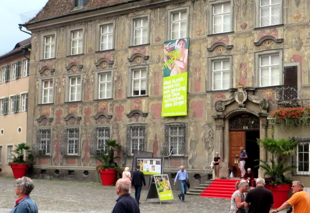 """Lindau: """"Haus zum Cavazzen"""", Museum mit Macke-Ausstellung (22.7.2018; Foto: Meyerbröker)"""