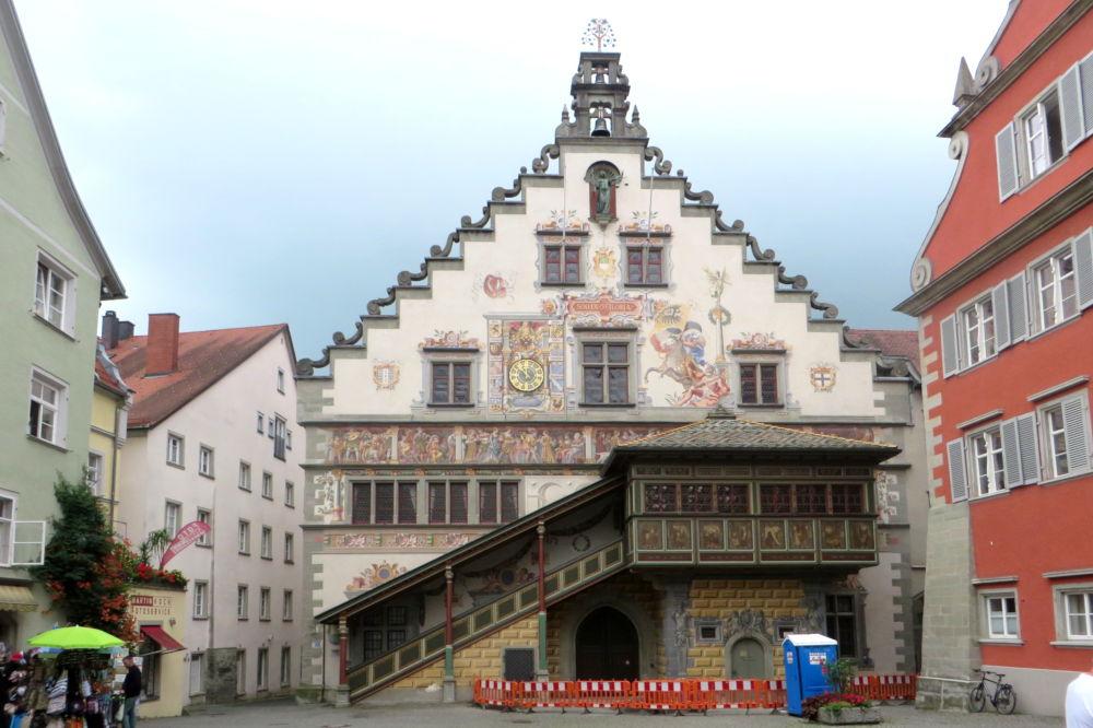 Lindau: Altes Rathaus (22.7.2018; Foto: Meyerbröker)