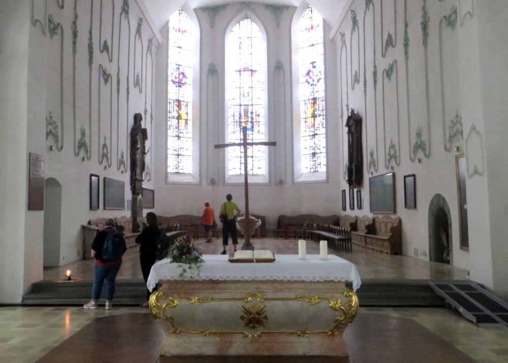 Lindau: Stephanskirche (22.7.2018; Foto: Meyerbröker)