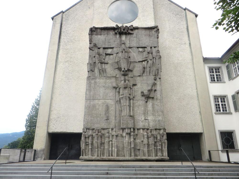 Bregenz: Klosterkirche Mehrerau (22.7.2018; Foto: Meyerbröker)