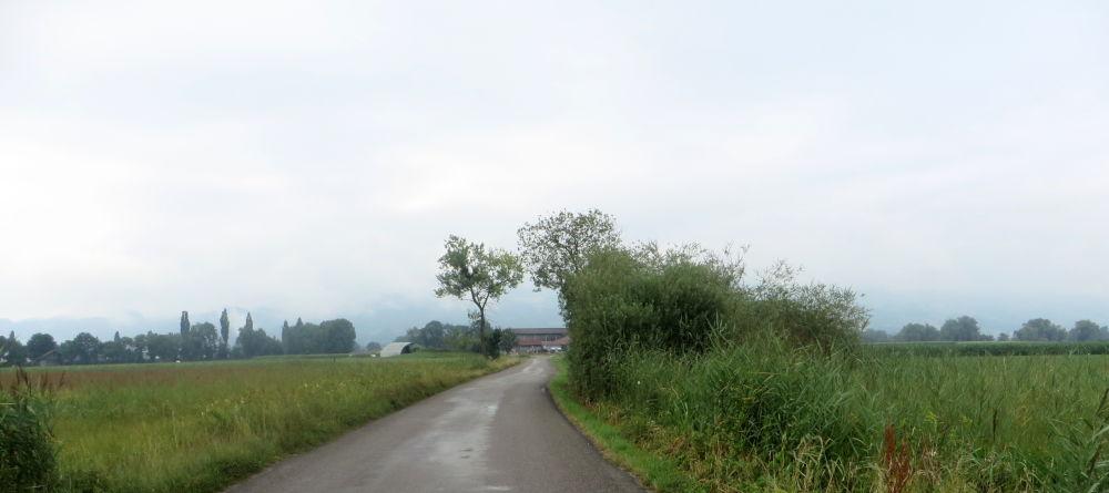Stille Landschaft im Abseits (23.7.2018; Foto: Meyerbröker)