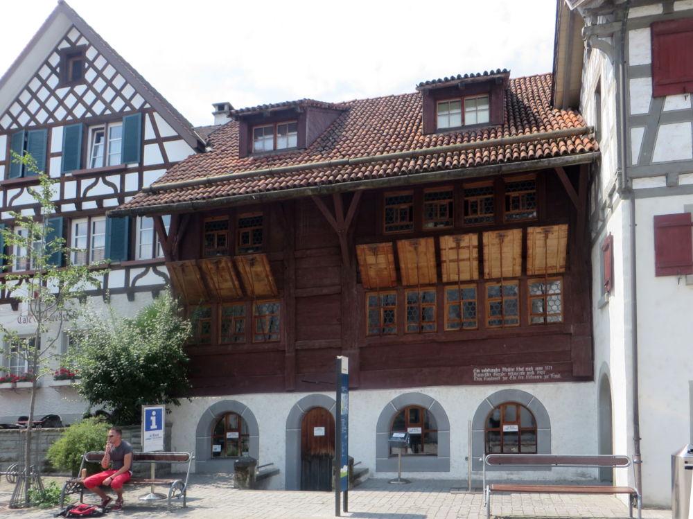 Arbon: Haus von 1471 (23.7.2018; Foto: Meyerbröker)