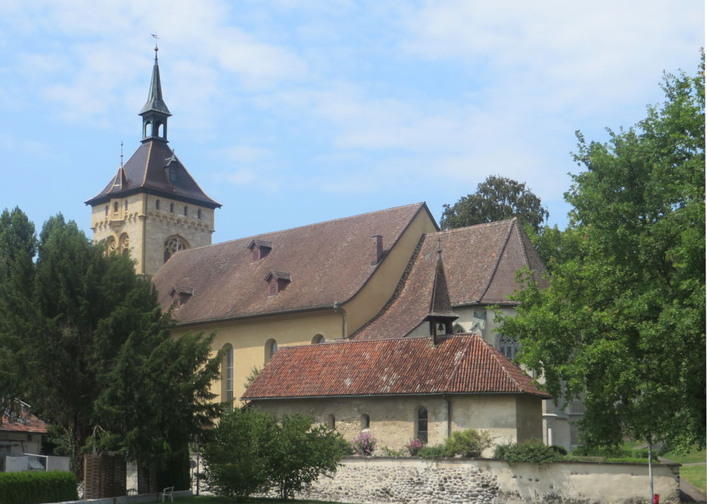 Arbon: St. Martin und Galluskapelle (23.7.2018; Foto: Meyerbröker)