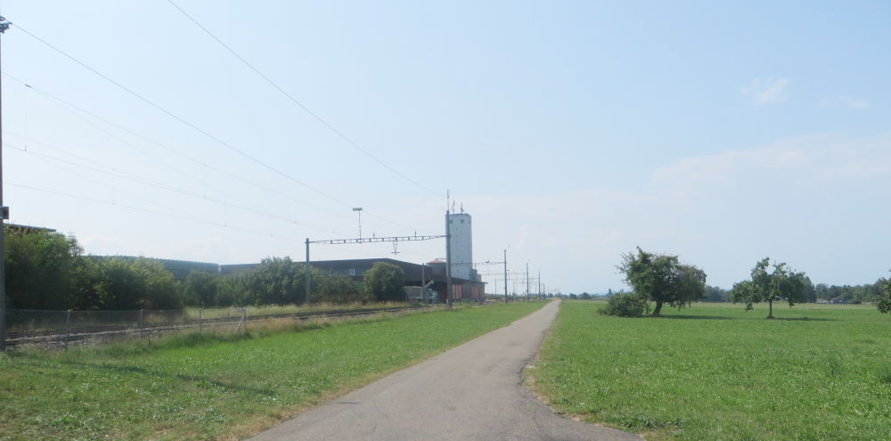 Hinter Kesswil: Bahnweg (23.7.2018; Foto: Meyerbröker)