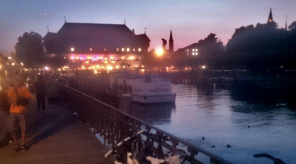 Konstanz: Das Konzilgebäude am Hafen (23.7.2018; Foto: Klare)