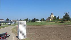 Reichenau: St. Georg im Gemüseland (24.7.2018; Foto: Meyerbröker)