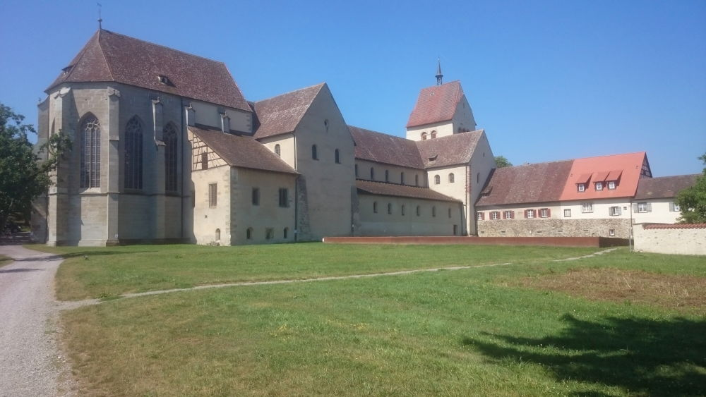 Reichenau: Münster St. Maria und Markus (24.7.2018; Foto: Klare)