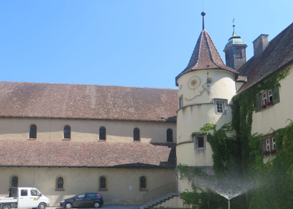 Reichenau: Frühere Abtei (24.7.2018; Foto: Meyerbröker)