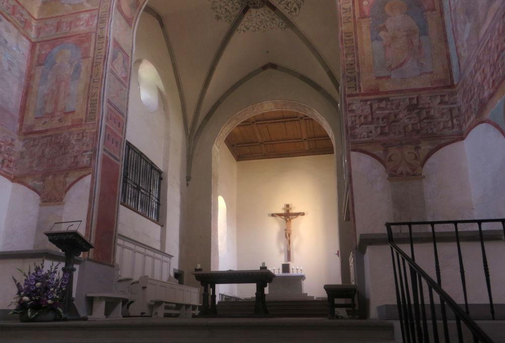 Reichenau: St. Georg (24.7.2018; Foto: Meyerbröker)