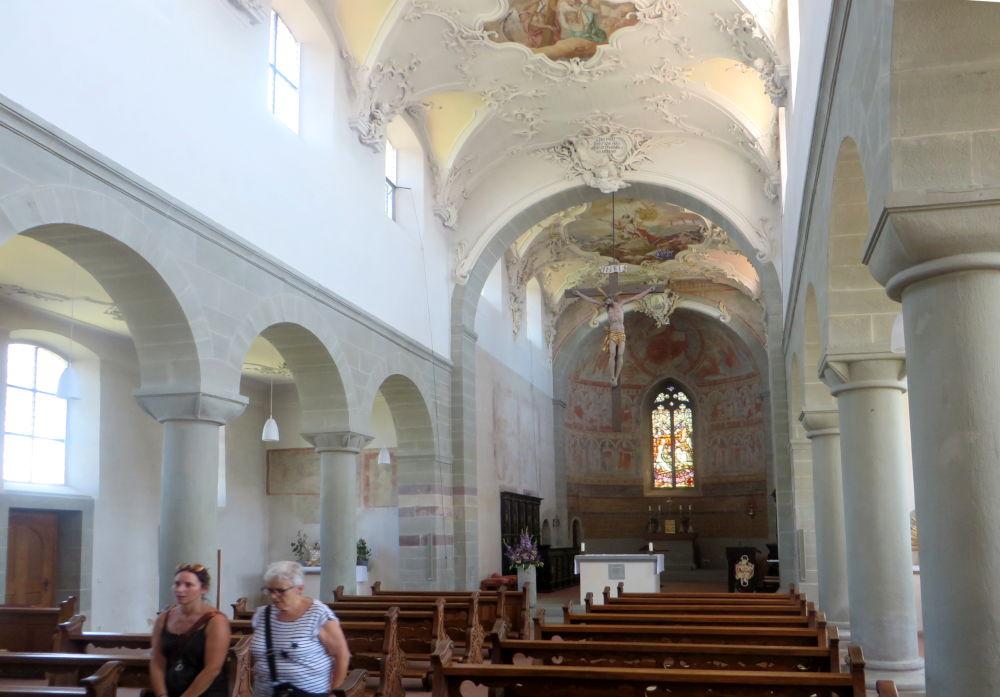 Reichenau: St. Peter und Paul (24.7.2018; Foto: Meyerbröker)