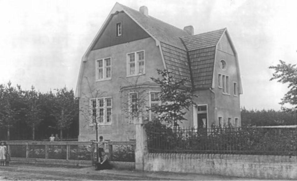Haus Nübel an der Klosterstraße 12 (um 1920)